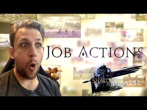Kiwi REACTS - Shadowbringers Job Actions | Final Fantasy XIV