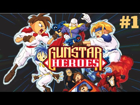 [Mega Drive/Genesis] Gunstar Heroes - The Ancient Ruins #1