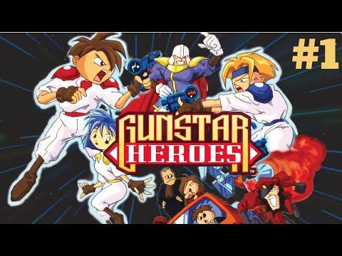 [Mega Drive/Genesis] Gunstar Heroes - The Ancient Ruins #1