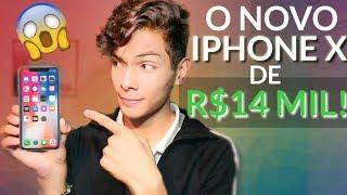 VEJA O NOVO IPHONE X DE R$14 000,00! PREÇO ABSURDO!