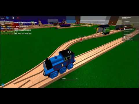 roblox Thomas and friends wooden railway