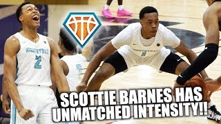 SCOTTIE BARNES IS THE MOST INTENSE PLAYER IN THE COUNTRY!! | 6'8 Wing Who Can Play ANY POSITION