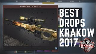 SOUVENIR DRAGON LORE UNBOXING! (CS:GO Best PGL Krakow Drops)