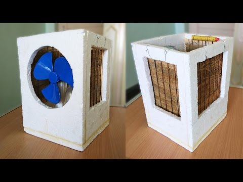How To Make An Air Cooler At Home Best Out Of Waste Do