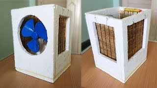 How to Make an Air Cooler at Home - Best out of waste