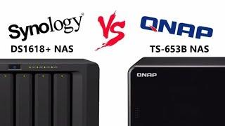 Synology DS1618+ Vs DS918+ NAS Comparison - Самые лучшие видео