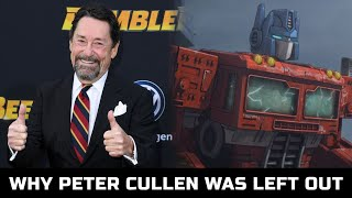 The Reason Peter Cullen Did Not Voiced Optimus Prime! - Transformers: War For Cybertron(2020)