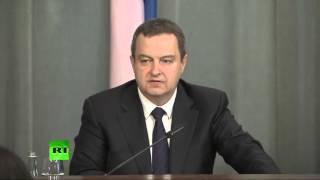 Пресс-конференция Сергея Лаврова и главы МИД Сербии по итогам переговоров
