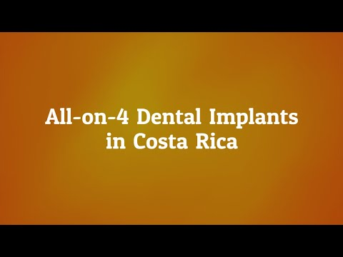 Highly Affordable All On 4 Dental Implants Cost in Costa Rica