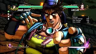 JoJo's All Star Battle: Joseph Move Set - HD