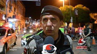 Comandante do 6º BPM garante fiscalização para menores de idade no carnaval de Cajazeiras