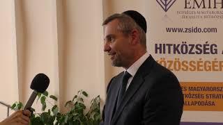 Együttműködési megállapodás az Egységes Magyarországi Izraelita Hitközséggel