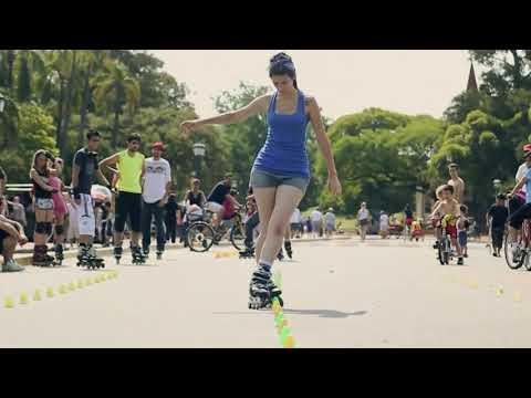 Sự kỳ diệu của trượt patin (full màn hình để cảm nhận )