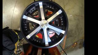 Helo Wheels HE869 Black Machined
