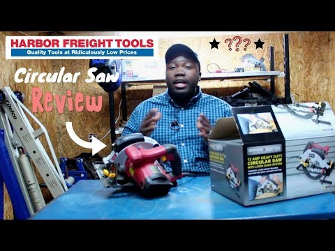 Harbor Freight Circular Saw Review
