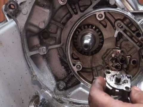 Remove Oil Pump from Yamaha Zuma 125 (Bws & Cygnus)