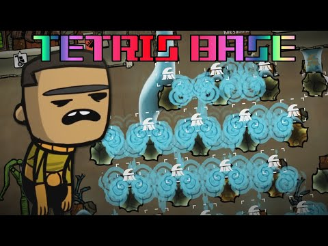 The Good News Is That We Found Water!.. Tetris Base ep3 - Oxygen Not Included