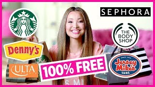Birthday Freebies! How To Get Free Stuff On Your Birthday (Free Food, Free Makeup) 🎈