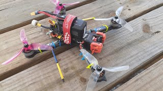 "Freestyle FPV - April 2020 Florida 5"" quad FPVcrate Booster motors"