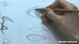 Мое творчество, Учимся рисовать глаза