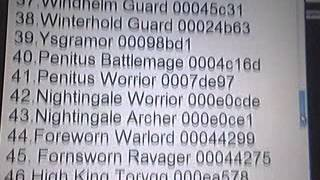 Skyrim Npc Id's FOR PC VERSON ONLY