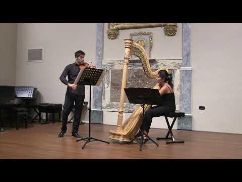 Duo Vieuxtemps (Arpa e Violino) Il sogno,la musica e la magia Torino Musiqua
