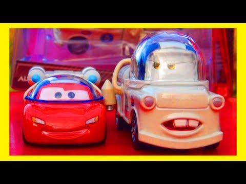 Cars 2 Autonaut Mater Take Flight Mattel Toys Disney Pixar Cars Toon Moon Mater McQueen Space Toy