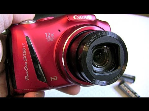 Canon Powershot SX150 IS Camera Review! Mp3