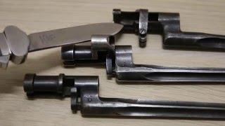Оценка и обзор основных типов штыков к винтовке Мосина. Mosin bayonets