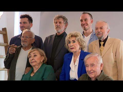 שחקני גיל הזהב האהובים בישראל מדברים על החיים והזקנה בצל הקורונה