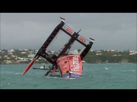 , title : 'Team New Zealand Capsize At America s Cup, June 6 2017'