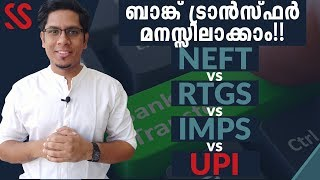 What is NEFT, RTGS, IMPS, UPI? Different Bank Money Transfer Methods EXPLAINED | How they Work?