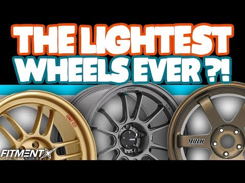 The Lightest Wheels Ever?!