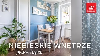 Mieszkanie Pełne Tapet I Niebieskich Odcieni | HOME TOUR