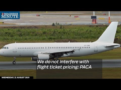 We do not interfere with flight ticket pricing: PACA