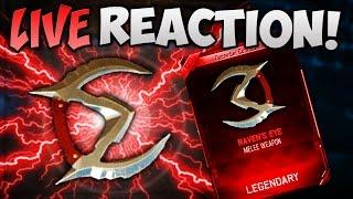 """DARK MATTER UNLOCKED """"LIVE REACTION"""" (NEW BO3 DLC WEAPONS)"""