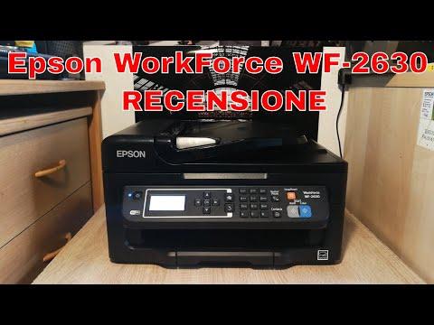 Multifunzione Ottimo per Casa e Ufficio - Recensione Epson WorkForce WF-2630WF