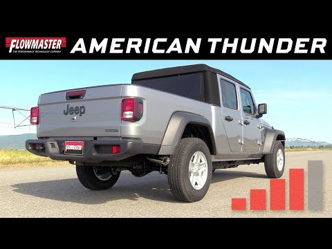 2020 Jeep Gladiator 3.6L - American Thunder Cat-back Exhaust System 817913