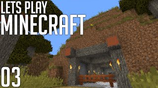 Let's Play Minecraft: Base Location Hype! (Episode 3)