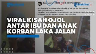 Viral Aksi Heroik Ojol Wanita Antar Ibu-Anak Korban Kecelakaan ke Rumah Sakit, Ini Kisah di Baliknya