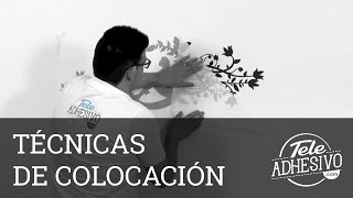 Técnicas De Colocación De Vinilos Decorativos - TeleAdhesivo