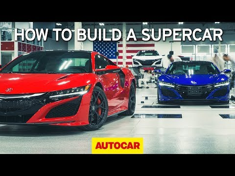 How to build a supercar | Honda NSX factory tour | Autocar