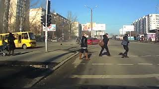 Аварии январь 2018год  Подборка