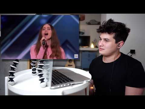 Vocal Coach Reaction to Makayla Phillips Golden Buzzer - America's Got Talent