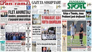 """13 nentor, 2018 """"Shtypi i dites"""" në News24 - """"Koha për t'u zgjuar"""" nga Bashkim Hoxha"""