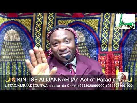USTAZJAMIU/ KINI ISE ALIJANNAH (AN ACT OF PARADISE)