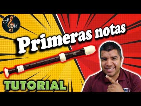 , title : 'Como tocar las NOTAS EN FLAUTA dulce (Principiantes)'