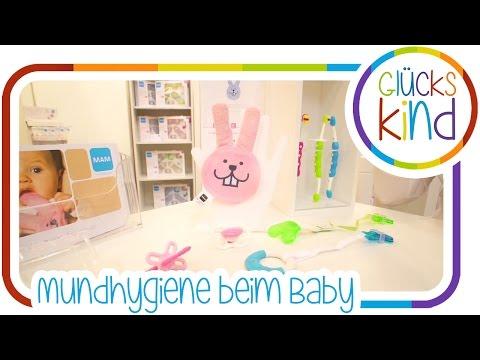Zahnpflege und Mundhygiene beim Baby | MAM | Das Glückskind | Babywelt Essen  # BabyBlog