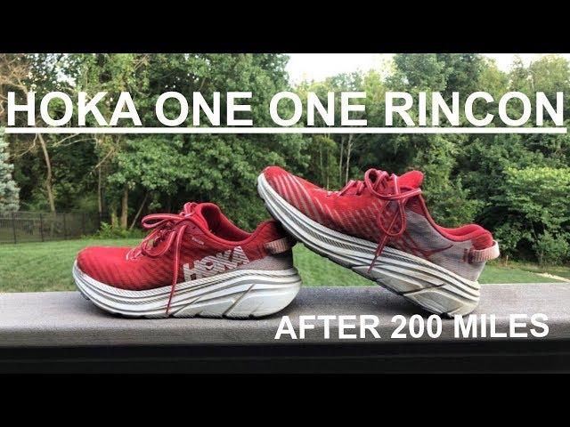The Hoka One One Rincon After 200 Miles! / Best Hoka Yet?!