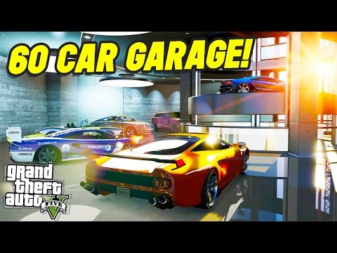 THE NEW LUXURY 60 CAR GARAGE?! (GTA 5 Online)